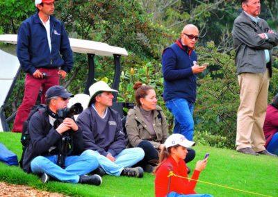 La diversión de posar para Fairway en el Colombia Open