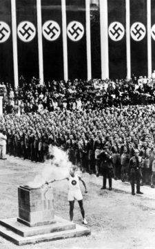 La retirada de Hitler por el Golf Olímpico (cortesía telegraph.co.uk)