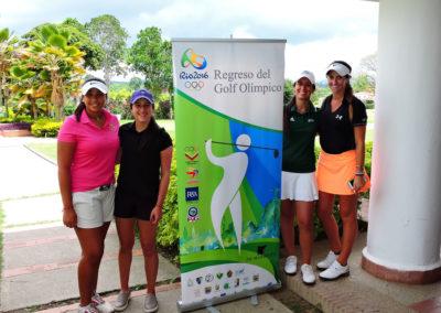 Galería de fotos del viernes y sábado en el LXII Campeonato Nacional Amateur de Damas en el Lagunita Country Club