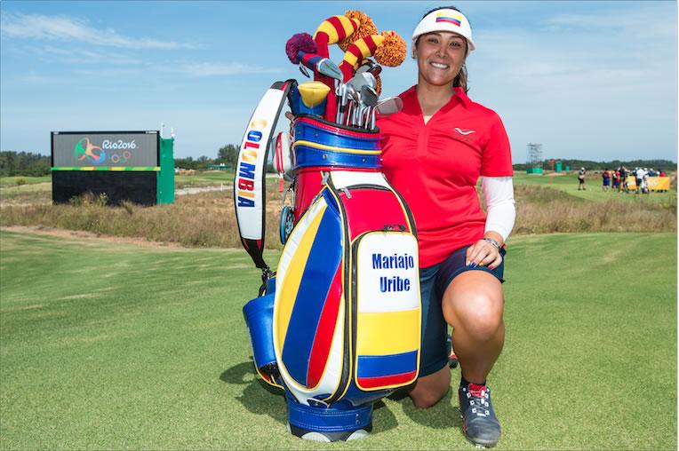 Mariajo Uribe: la mejor Latinoamérica en el Golf Olímpico de Río 2016