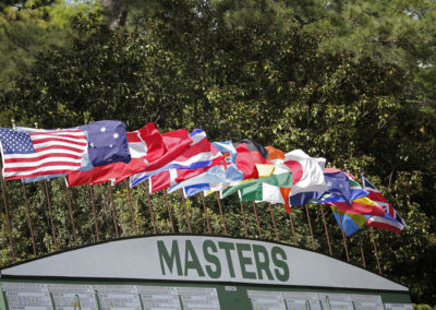 Masters de Augusta 2016, 2da Ronda (cortesía © Augusta National 2016)