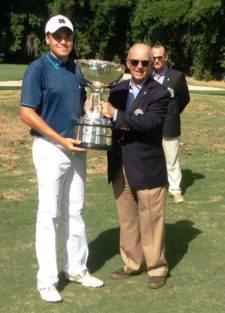 Octavio Baralt nuevo campeón Nacional Amateur de Golf