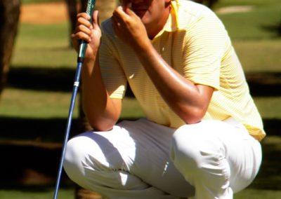 Otto Solís ganó e igualó récord en X Abierto Sambil de Golf