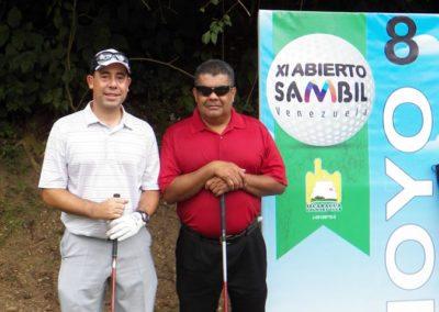 Posando en XI Abierto Sambil