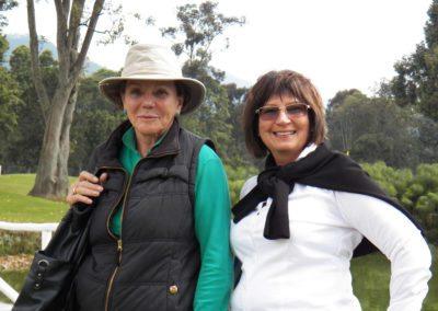 Posando para Fairway desde Bogotá