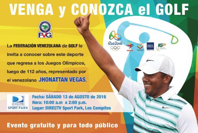Programa especial Golf Olímpico en Radio Deporte
