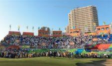 Fans el el hoyo 18 (cortesía Stan Bad/PGA TOUR/IGF)