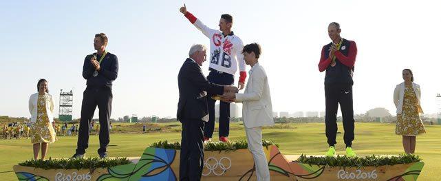 Rose gana la batalla del oro Olímpico