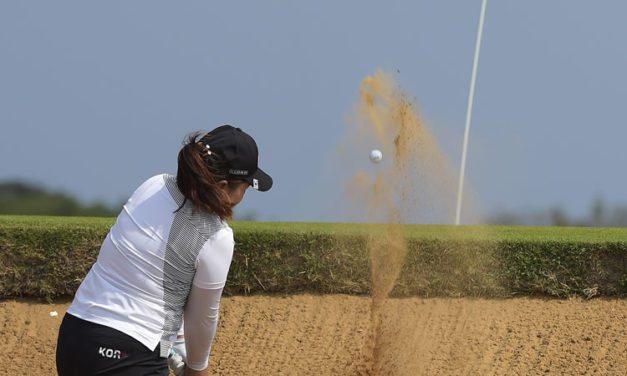 Surcoreana Park domina con ventaja el Golf Olímpico de Damas