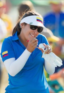 Mariajo Uribe de Colombia (cortesía Tristan Jones/IGF)