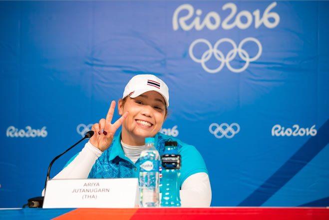 Tailandesa Jutanugarn amenaza con hacer historia en el golf Olímpico