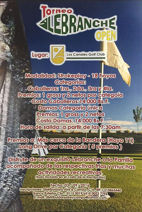 Torneo deGolf Lebranche Open