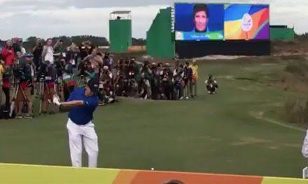 Video, el primer tee Olímpico desde 1904!