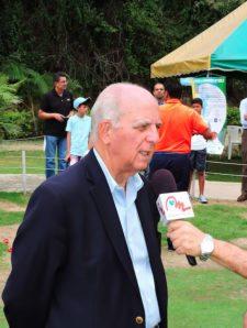 Vinieron y conocieron el golf en el DIRECTV Sport Park