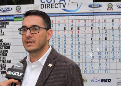 XXXIII Abierto de Venezuela Copa DIRECTV, selección Sábado 16 de Abril