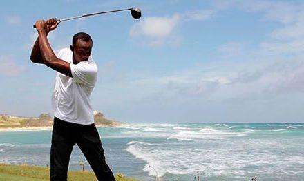 ¿Y si Usain Bolt hubiera decidido dedicarse al golf?
