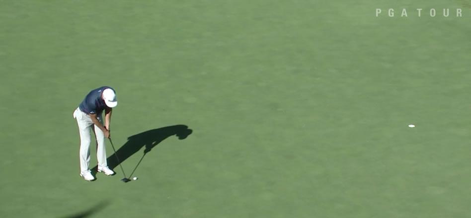 El eagle con el que Dustin Johnson selló su victoria en el BMW Championship