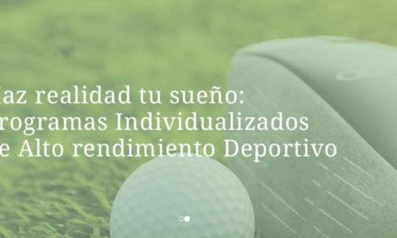 El golf se incluirá en los programas de alto rendimiento del SEK