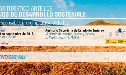 El sector turístico ante los Objetivos de Desarrollo Sostenible. Turismo responsable, un compromiso de todos