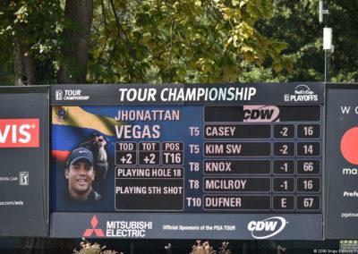 Galería 2da ronda Tour Championship