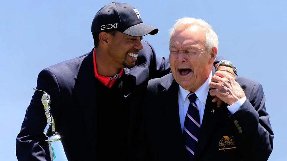 Golfistas lamentan la muerte de Arnold Palmer