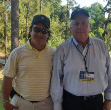 Laureano Vallenilla y Jay Sporl (cortesía Thompson Golf Europe)