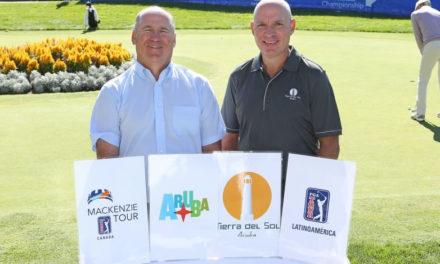 PGA TOUR Latinoamérica y el Mackenzie Tour – PGA TOUR Canada anuncian la Aruba Cup en asociación con Aruba Tourism Authority