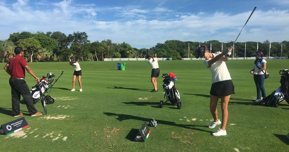 Equipo Venezolano de Damas en el Mundial Amateur de Golf