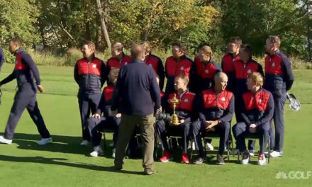 Video, Foto USA Team Ryder Cup