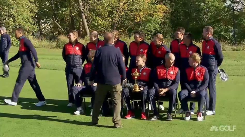 Video, Foto USA Team Ryder Cup