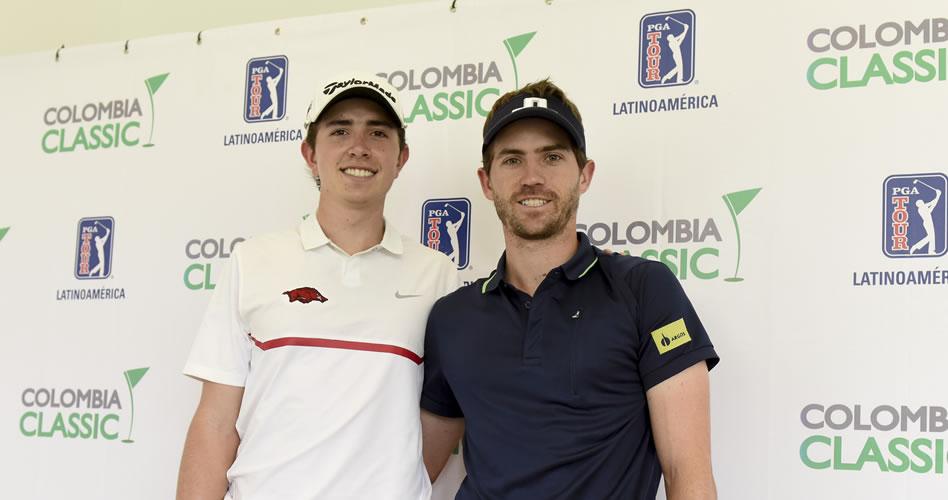 Andrés Echavarría rebasa a su hermano en el Colombia Classic