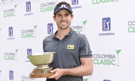 Andrés Echavarría se impuso en el Colombia Classic