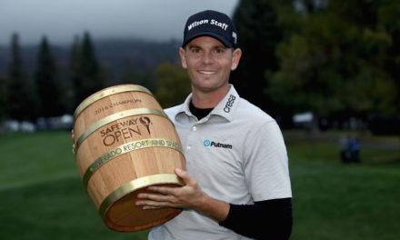 Brendan Steele arrancó con victoria en el inicio del PGA TOUR