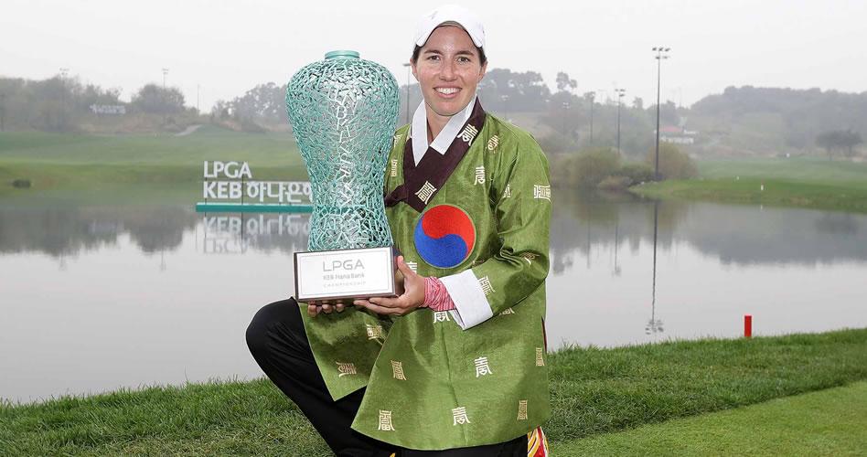 Carlota Ciganda logró su primera victoria en el LPGA TOUR