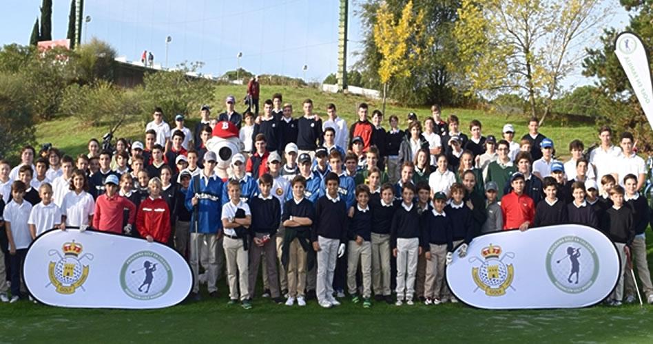 """El programa """"Golf en Colegios"""" de la Fed. de Madrid continúa imparable. Nace el Circuito Interescolar"""