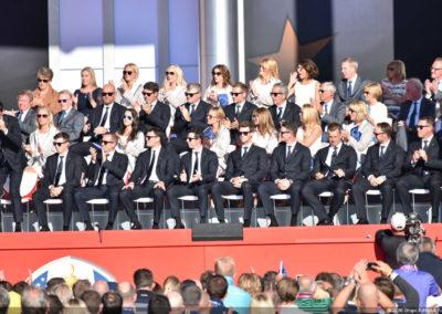 Galería de fotos ceremonia inaugural de la 41º Copa Ryder