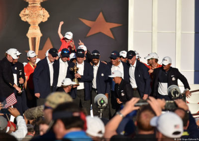 Galería de fotos Premiación 41º Copa Ryder