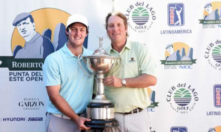 Guillermo Pereira brindó una clase magistral de golf y se llevó el título
