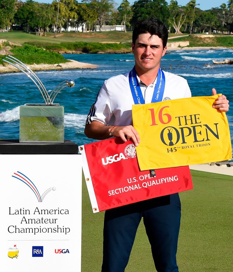 Jorge García, subcampeón del Latin America Amateur Championship 2016