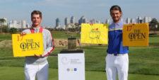 Curtis Luck y Brett Coletta (cortesía Australian Senior Golfer)