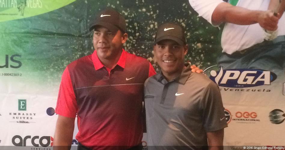 Los hermanos Vegas son la apuesta venezolana para el Mundial de Golf