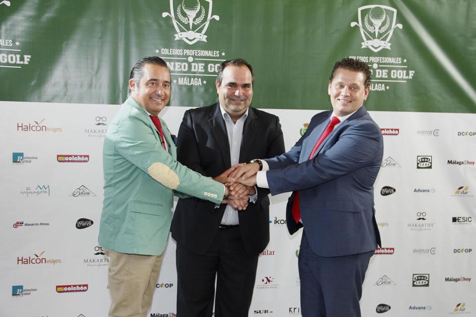 Responsables del I Torneo de Golf, Colegios Profesionales