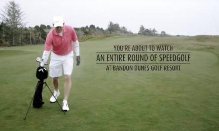 Speedgolf, ¿quién dijo que el golf es un deporte lento?