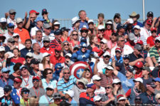 Público en 41º Ryder Cup en Hazeltine Golf Club