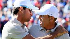 Rafa Cabrera-Bello y Sergio García (cortesía sportingnews.com)