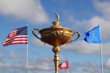 USA encendido adelante ante Europa que viene con todo (cortesía golfweek.com)
