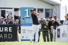 Fabián Gómez (ARG) está cerca de la punta en este 111° VISA Open de Argentina presentado por OSDE / Foto: Gentileza Enrique Berardi/PGA TOUR