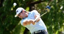 Derek Gillespie (CAN) está a un solo golpe y mañana va por el batcazo / Foto: Gentileza Enrique Berardi/PGA TOUR