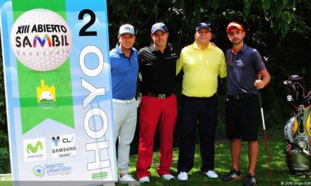 Equipos de Rojas y Fernández ganan el ProAm Alliance del Abierto Sambil