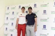 Nicolás y Andrés Echaverría (cortesía Enrique Berardi/PGA TOUR)